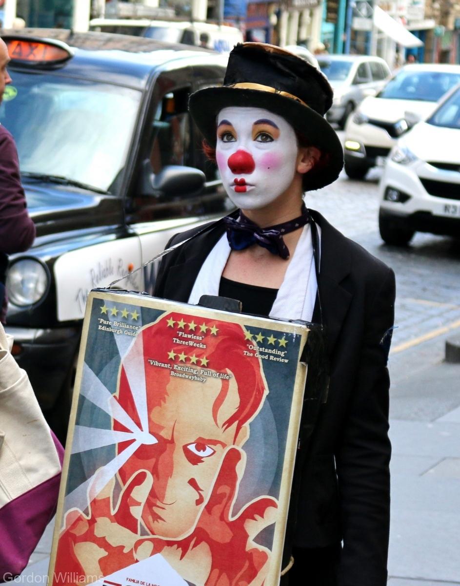 Fringe-Clown